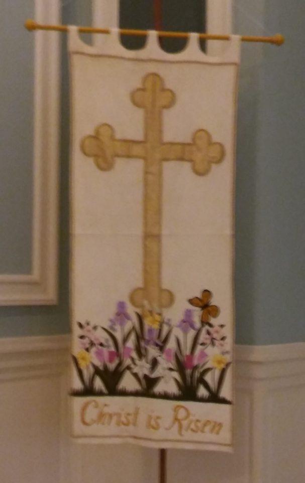 Easter Banner Christ is Risen